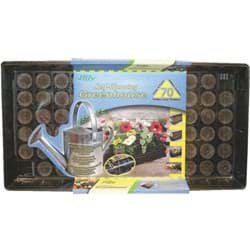 Picture of Jiffy 70-Cell Self Watering Greenhouse Seed Starter Kit