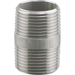"Picture of PLUMB-EEZE Stainless Steel Nipple - 3/8""MIP x 3"""