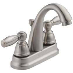 Picture of Peerless 2-Handle 4 In. Centerset High Arc J Spout Bathroom Faucet with Pop-Up