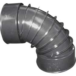 Picture of Advanced Basement 3 In. Corrugated Polyethylene Elbow