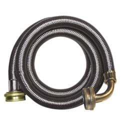 Picture of B&K Washing Machine Hose W/Elbow