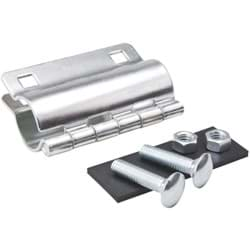 Picture of Galvanized Pipe Repair Clamps - 2""
