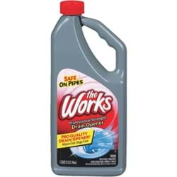 Picture of The Works Professional Strength Liquid Drain Cleaner Opener