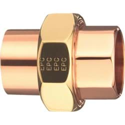 "Picture of Elkhart C x C Copper Union - 1"" x 1"""