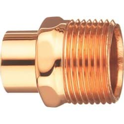 "Picture of Elkhart Male Street Copper Adapter - 3/4"" S x 3/4"" MIP"