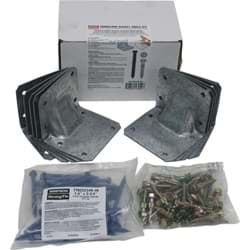 Picture of 10-Piece Gusset Angle Hurricane Tie Kit