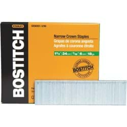 Picture of Bostitch Narrow Crown Finish Staple - 1-3/8