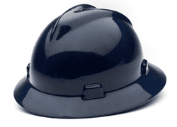 Picture of Hard Hat Full-Brim w/ Fas-Trac Suspension – Blue Navy