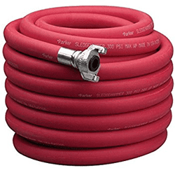 "Picture of Pneumatic Hose 1"" Rubber w/ Fit Crow Foot – 50'"