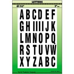 Picture of Hy-Ko 2 In. Letter Set