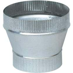 "Picture of 24 Gauge Imperial Galvanized Increaser - 5"" x 6"""