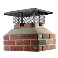 Picture of Shelter Adjustable Single Flue Chimney Cap for Large Flue
