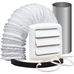 Picture of Bathroom and Utility Wall Bath Fan Vent Kit