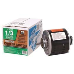 Picture of Dial Residential Replacement Cooler Motor - 1/3 HP - 2 Speed