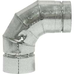 Picture of SELKIRK VP Pellet Pipe 90 Deg Pellet Stove Pipe Elbow