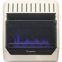Picture of ProCom Dual Fuel Blue Flame Gas Wall Heater