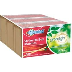 Picture of Diamond Strike on Box Kitchen Matches