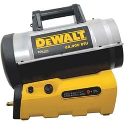 Picture of DeWalt Cordless Propane Forced Air Heater - Bare Tool