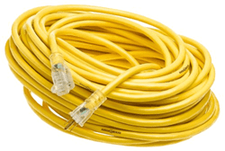 Picture of Extension Cord 12/3 Gauge w/ Lighted End – 100'