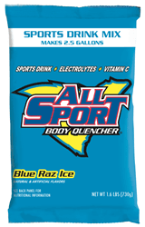 Picture of All Sport Powder 2.5gal. /8pack - Blue Raz