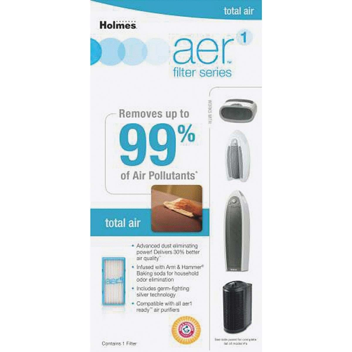 Ropesoapndope Holmes Aer Replacement Hepa Air Purifier Filter