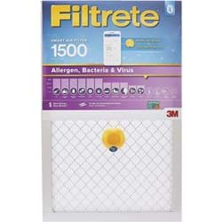 "Picture of 3M Filtrete Allergen, Bacteria & Virus Smart Air Conditioner & Furnace Filter - 16""x25""x1"""