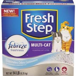 Picture of Fresh Step Multi-Cat Clumping Cat Litter - 14 lb.