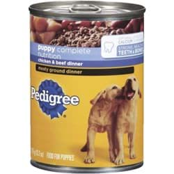 Picture of Pedigree Puppy Meaty Ground Dinner Dog Food