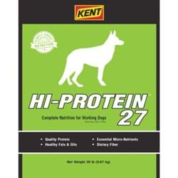 Picture of Kent 27% Hi-Protein Dog Food - 20 lb