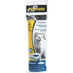 "Picture of Petmate Disposable Cat Litter Pan Liner - 30"" L x 17"" W"