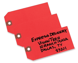 Picture of Tag Shipping 1000ct. – Red