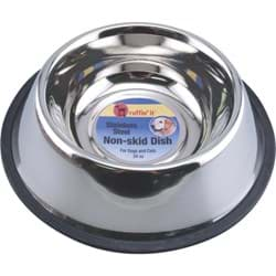 Picture of Westminster Pet Ruffin' it Non-Skid Stainless Steel Pet Bowl - 24 oz