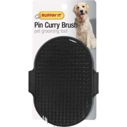 Picture of Westminster Pet Ruffin' it Palm Grooming Pet Brush