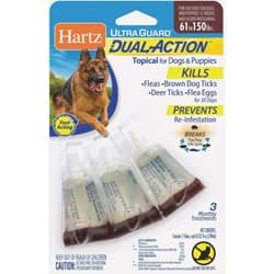 Picture of Hartz UltraGuard Dual Action Flea & Tick Treatment For Dogs & Puppies
