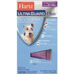 Picture of Hartz UltraGuard Plus Flea & Tick Treatment Drops For Dogs