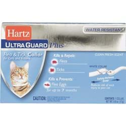 Picture of Hartz UltraGuard Plus Flea & Tick Collar For Cats & Kittens