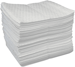 "Picture of Absorbent Pads Oil 1/4"" economy – 100pack"