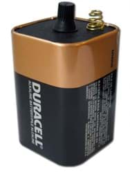 Picture of Battery Spring Type Duracell – 6volt