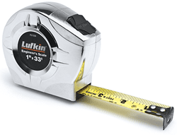 Picture of Tape Measure Engineer Case Metal Lufkin – 33'