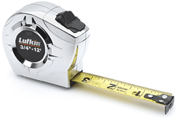 Picture of Tape Measure Engineer Case Metal Lufkin – 12'
