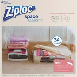 Picture of Ziploc Space Bag Vacuum Seal Tote Storage Bag Set