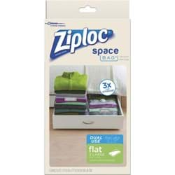 Picture of Ziploc Space Bag Vacuum Seal Dual Use Flat Storage Bag