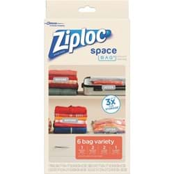 Picture of Ziploc Space Bag Vacuum Seal Variety Combo Storage Bag