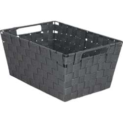 Picture of Home Impressions Woven Storage Basket With Handles