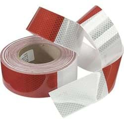 "Picture of Tape Reflective 2""x150' – Red/Silver"