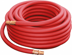 "Picture of Pneumatic Hose 3/8"" Rubber w/ End – 25'"