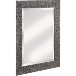 Picture of Erias Home Designs Chromed Espresso Wall Mirror