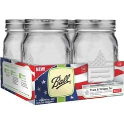 Picture of Ball Stars & Stripes Keepsake Canning Jar