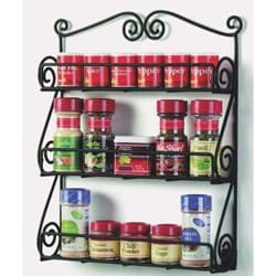 Picture of Scroll Wall Mount Spice Rack