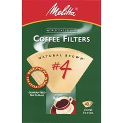 Picture of Melitta #4 Cone Coffee Filter